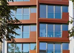 Alucobond Fassade Brunnenstr. Berlin