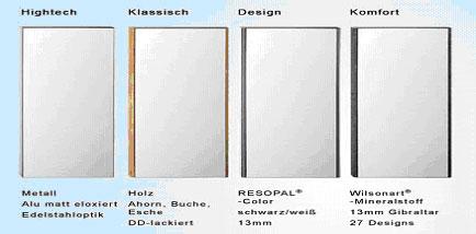 kantenausbildung design